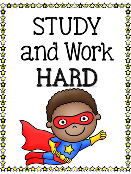 Test Taking Strategy posters- Superhero Theme
