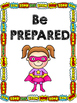 Test Taking Strategy posters- Superhero Theme