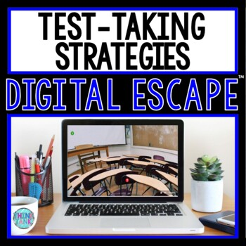 Test Taking Strategies DIGITAL ESCAPE ROOM for Google Drive® | Test Prep