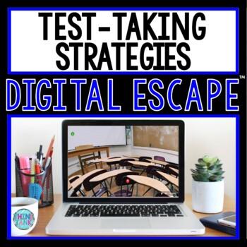 Test Taking Strategies DIGITAL ESCAPE ROOM for Google Drive® | Test Prep