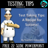 Test Taking Tips PowerPoint Lesson