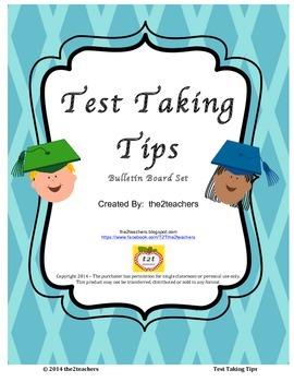 Test Taking Tips Bulletin Board Set