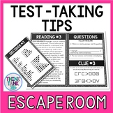 Test Taking Tips Escape Room Activity- Test Prep