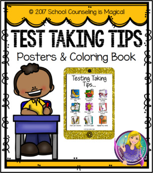 Test Taking Tips Posters And Coloring Book