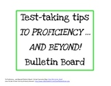 Test Taking Tips Printable for To Proficiency... And Beyon