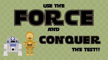 Test Taking Tips - Star Wars Theme