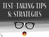 Test-Taking Tips & Strategies