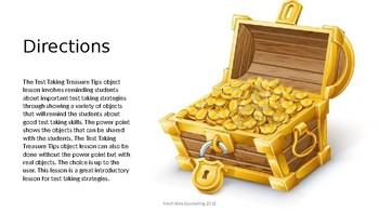 Test Taking Treasure Tips