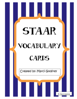 Test Taking Vocabulary Cards
