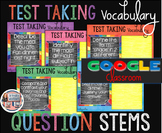 Test Taking Vocabulary Digital Question Stems