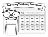 Test Taking Vocabulary Game Show (A No Prep Activity)