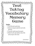 Test Taking Vocabulary Memory