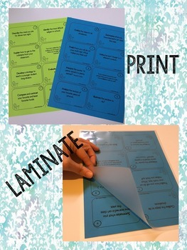 Test Taking Vocabulary *Task Cards* for Intermediate Students