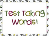 Test Taking Vocabulary Words