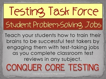 Test Taking and Problem Solving Student Jobs for any Conte