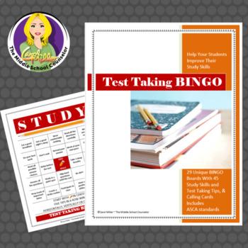 Study skills bingo free