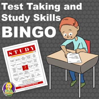 Test Taking and Study Skills BINGO