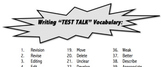 Test Talk Vocabulary