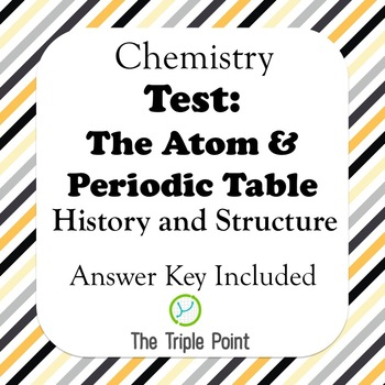 Test: The Atom & Periodic Table (History & Structure)