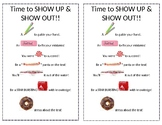 Test Treat Bag Poem Note for Students