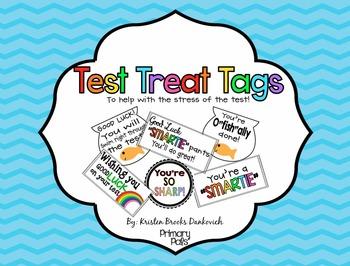 Test Treat Tags FREEBIE!