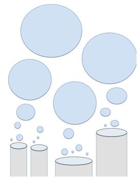 Test Tube Bubble Graphic Organizer