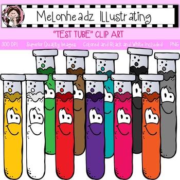Test Tube clip art - Single Image - by Melonheadz