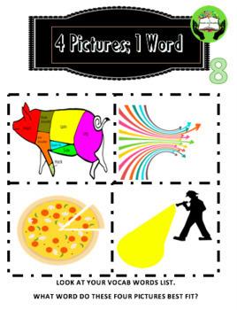 ELA Test Prep: 16 common vocabulary words