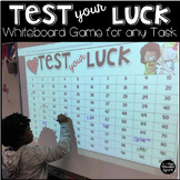 Test Your Luck Whiteboard Game