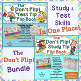 TEST AND STUDY TIPS: DON'T FLIP! FLIP BOOK BUNDLE