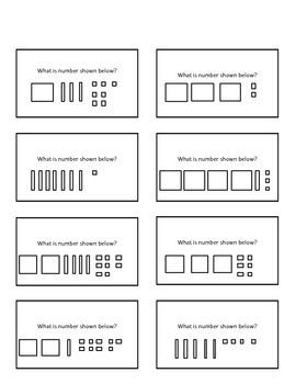 Place Value: Quiz Quiz Trade or Scoot Cards