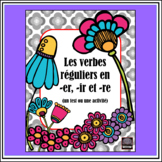 Test de verbes en -er, -re, et -ir - Regular Verbs