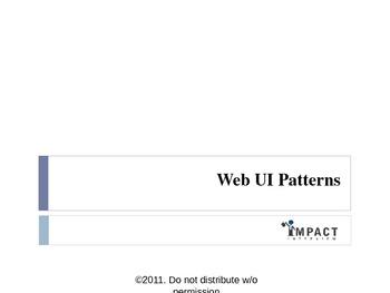 Test file - UI patterns