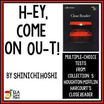 """Test for """"He-y, Come On Ou-t"""" by Shinichi Hoshi ~Close Reader 7th Grade"""