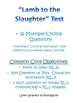 "Test for ""Lamb to the Slaughter"" by Roald Dahl"
