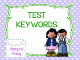 Test key words
