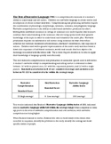Speech Therapy-Test of Narrative Language Evaluation Repor