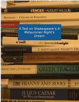 Test on A Midsummer Night's Dream