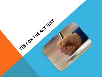Test on ACT Tips