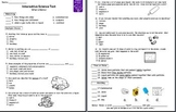 Phases of Matter Test (States of Matter) Test Only - Study Guide Not Included