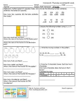Test or homework 2nd semester 21 Thursdays English