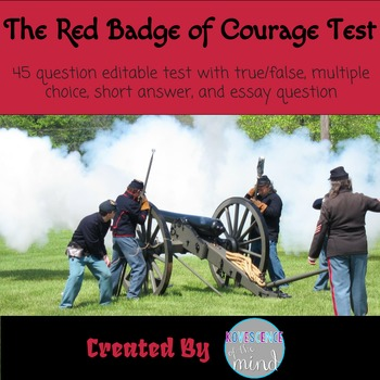 the red badge of courage test answers by kovescence of the mind the red badge of courage test answers