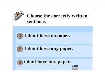 Test practice-Correct Sentence