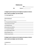 French Test / quiz pronom y et en