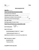 Test recapitulativ pentru clasa a-VIII-a