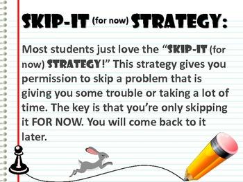 Test-taking Strategies by JennyG