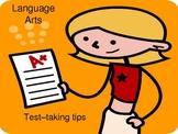 Test-taking Tips for Language Arts