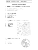 US History - Test/Exam:  Geography
