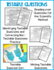 Testable Questions A Scientific Method Support Lesson - Mi
