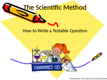 Testable Questions Powerpoint
